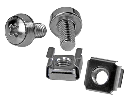 Pack of M6 Screw & Cage Nut